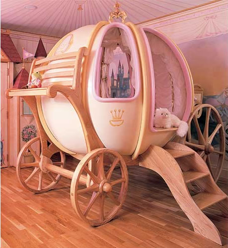 Cinderella-coach-bed
