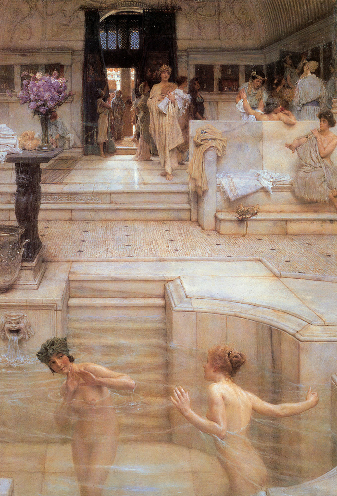 Alma-Tadema_A_Favourite_Custom_1909_Tate_Britain