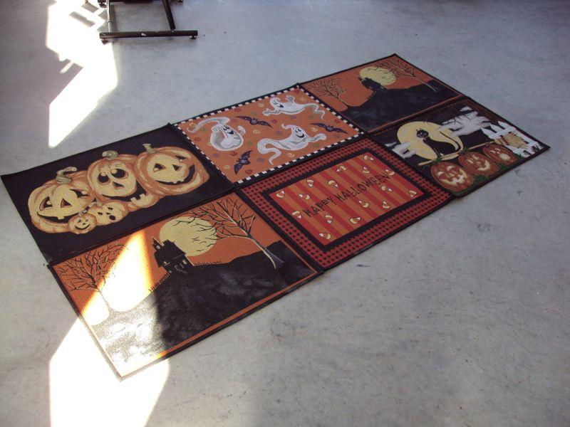 instant large halloween rug - Halloween Rugs