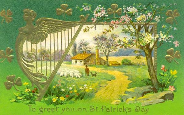 Vintage St. Patrick Day postcard 4