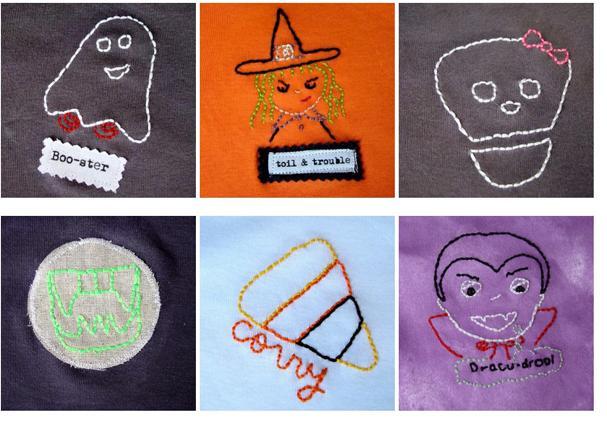 Halloween-embroidery