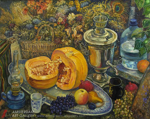 Stilllifeiwthpumpkin Schigolev Oleg