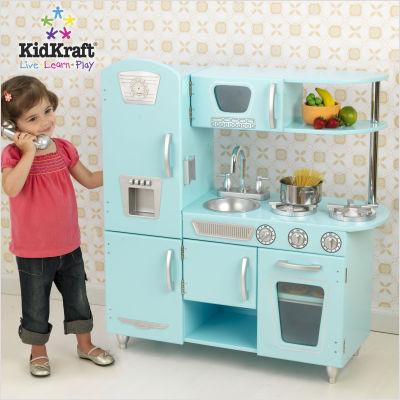 Blue+Vintage+Kitchen