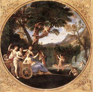Francesco-Albani-Oil-Painting-Spring-Venus-at-her-Toilet