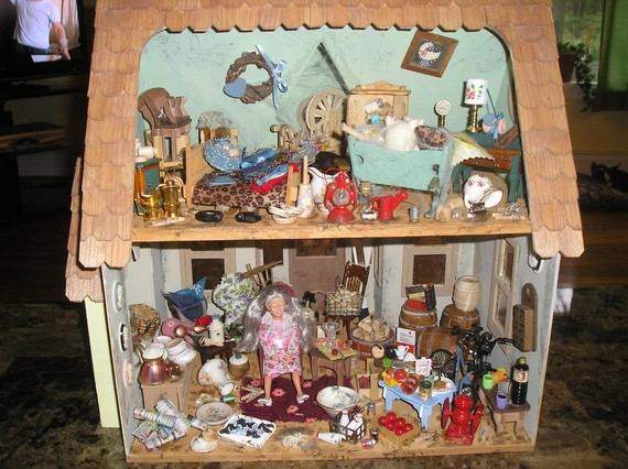 Hoarder Dollhouse Laura Irrgang
