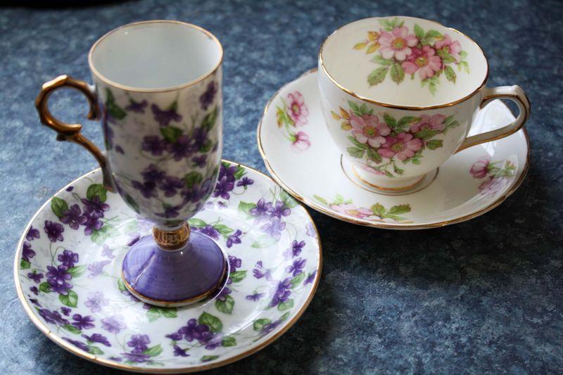 Porecelain cups
