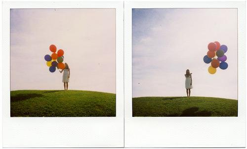 Balloon-polaroid