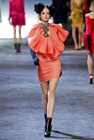 Lanvin-fall-2011-rtw-coral-dress-gallery