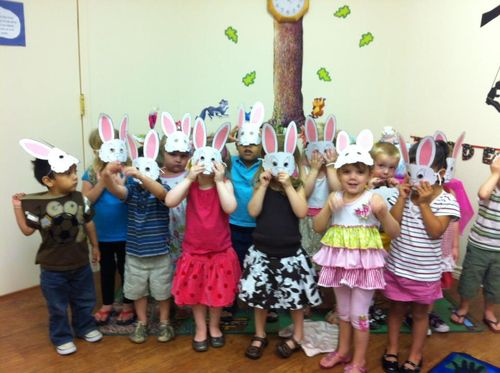 EasterPartyBunnyMasks