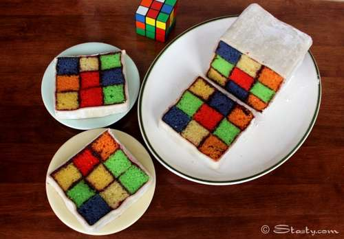 Rubiks-Battenburg-Cake