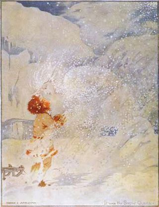 Honor Appleton's illustrations for The Snow Queen-1