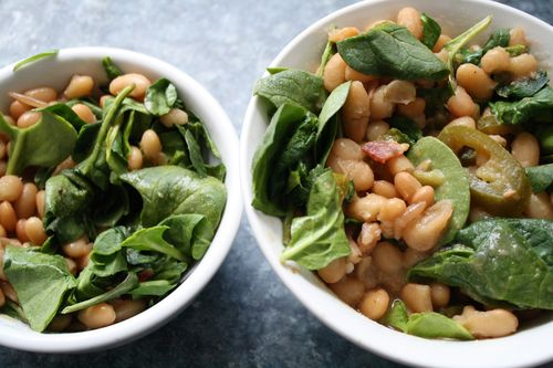 SpinachBeans