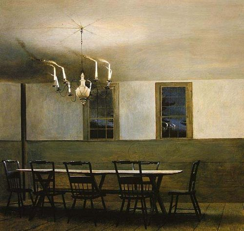 Witching Hour by Andrew Wyeth