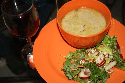Mushroom Soup Salad