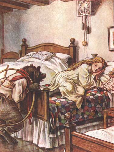 Goldilocks And The Three Bears Fairy Tale Friday The
