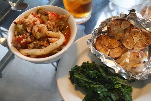 SeafoodGumboSpinach