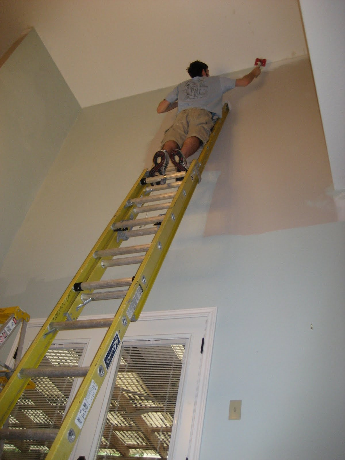 Painting High Ceilings Above Stairs Integralbook Com