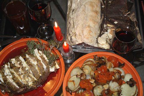 Stuffed Roast