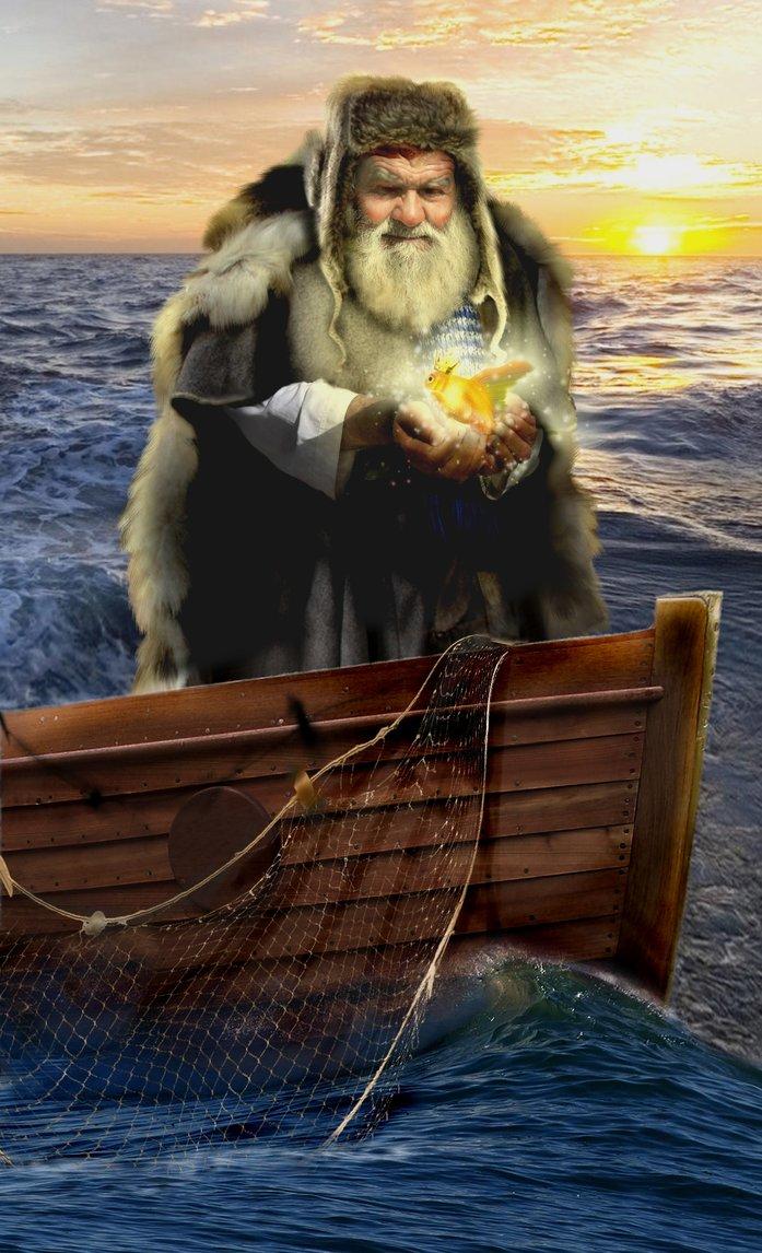 Russian Golden Fish-Fairy Tale Friday - The Rhinestone Bookmark