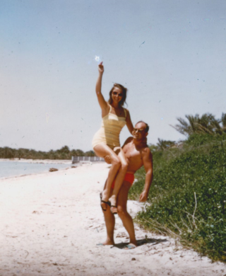 1955 - Otto & Nina in Bahrein