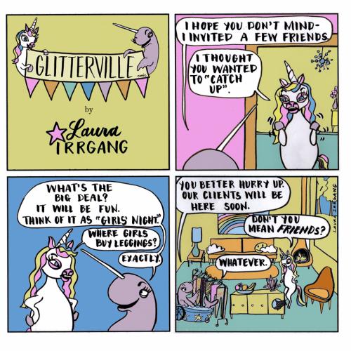 Glitterville Comic-November 28  2017