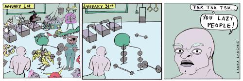 Glitterville Comic-January 31  2018