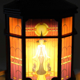 Art Deco With Light Lit