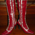 Red ButtonBoots 1