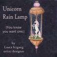A-Rain lamp small