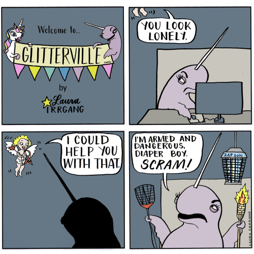 Glitterville Comic-February 5  2018