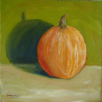 Pumpkin on Green 1a