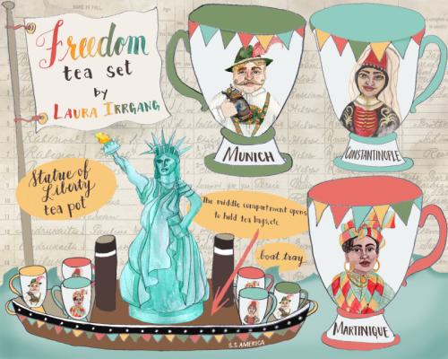 Ellis Island Tea Set Final