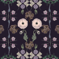 A-Lush Floral Purple