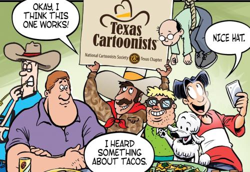 Texas Cartoonist Image rectangle