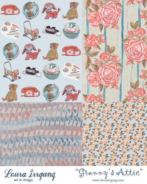 SS Granny's Attic Pattern Sheet