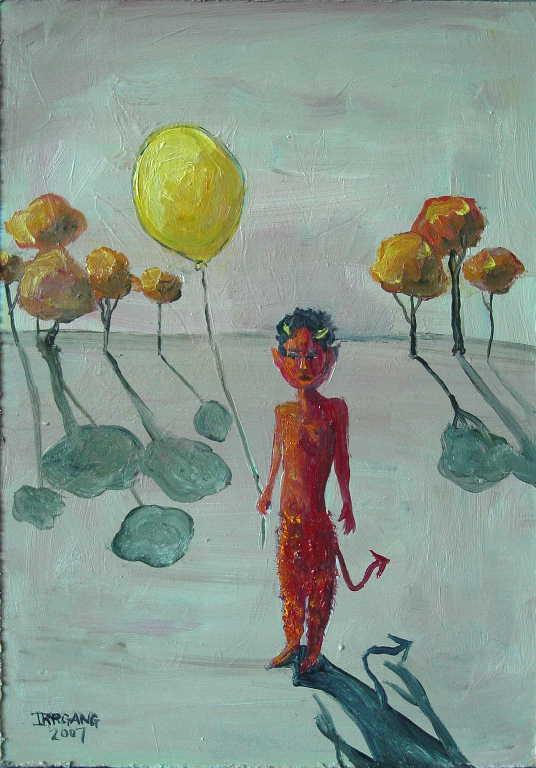 Devil Boy & Yellow Balloon 1a