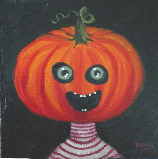 Pumpkin in Striped Sweater 1a