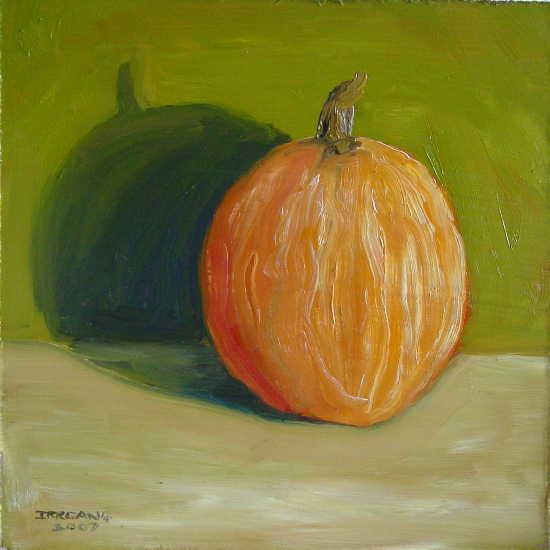Pumpkin on Green 1a