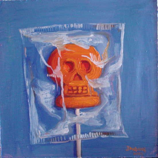 Skeleton Lollipop 1a