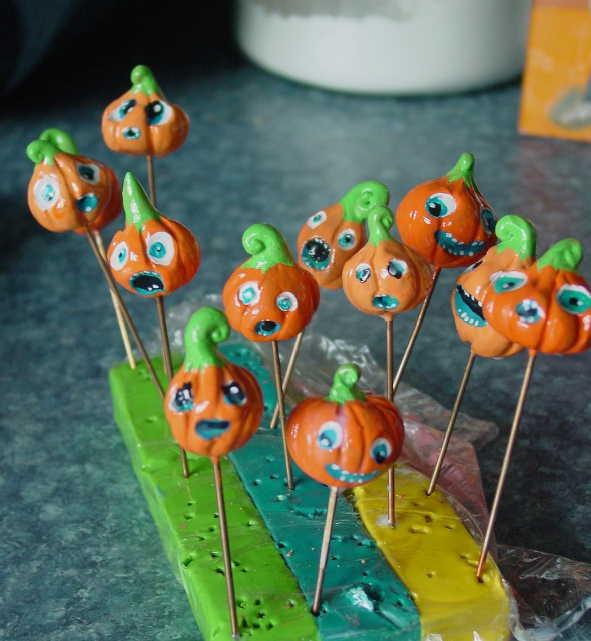 Pumpkin Toppers