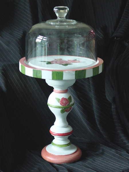 Rose Cake Stand 1