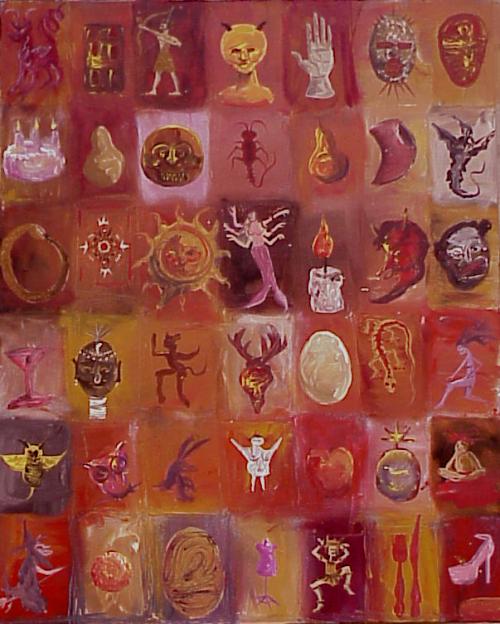 Alchemists Cabinet 16x20