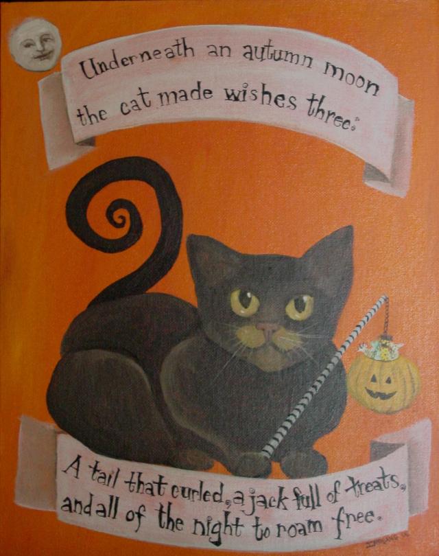 Autumn Moon Cat