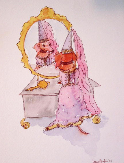 Dox Princess Mirror