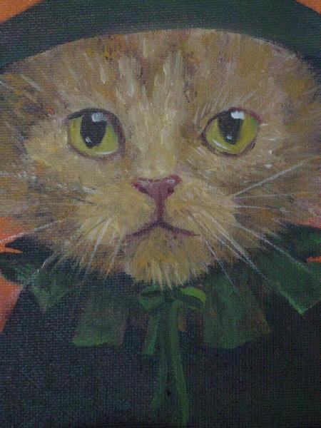 Orange Catwitch Detail 1