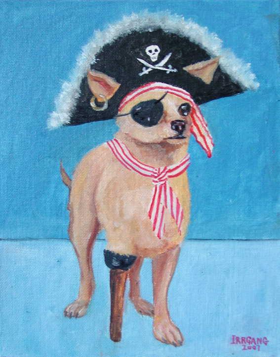 Pirate Dog 1a