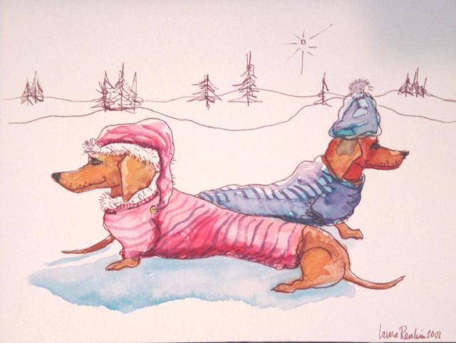 Snow Doxies Hats